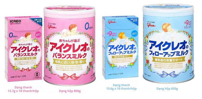 Sữa Glico phù hợp cho trẻ táo bón