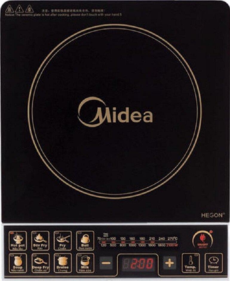 Bếp điện Midea rất kén nồi