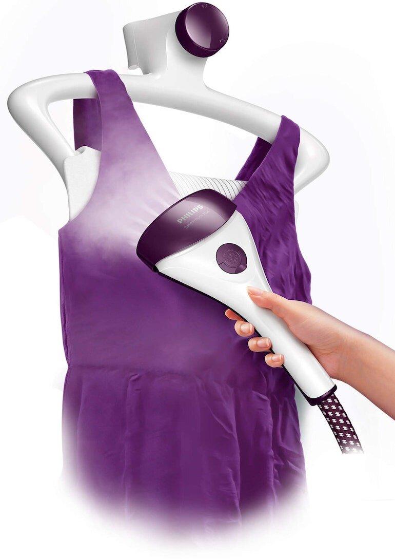 Bàn ủi hơi nước đứng Philips GC558 thách thức mọi chất liệu vải