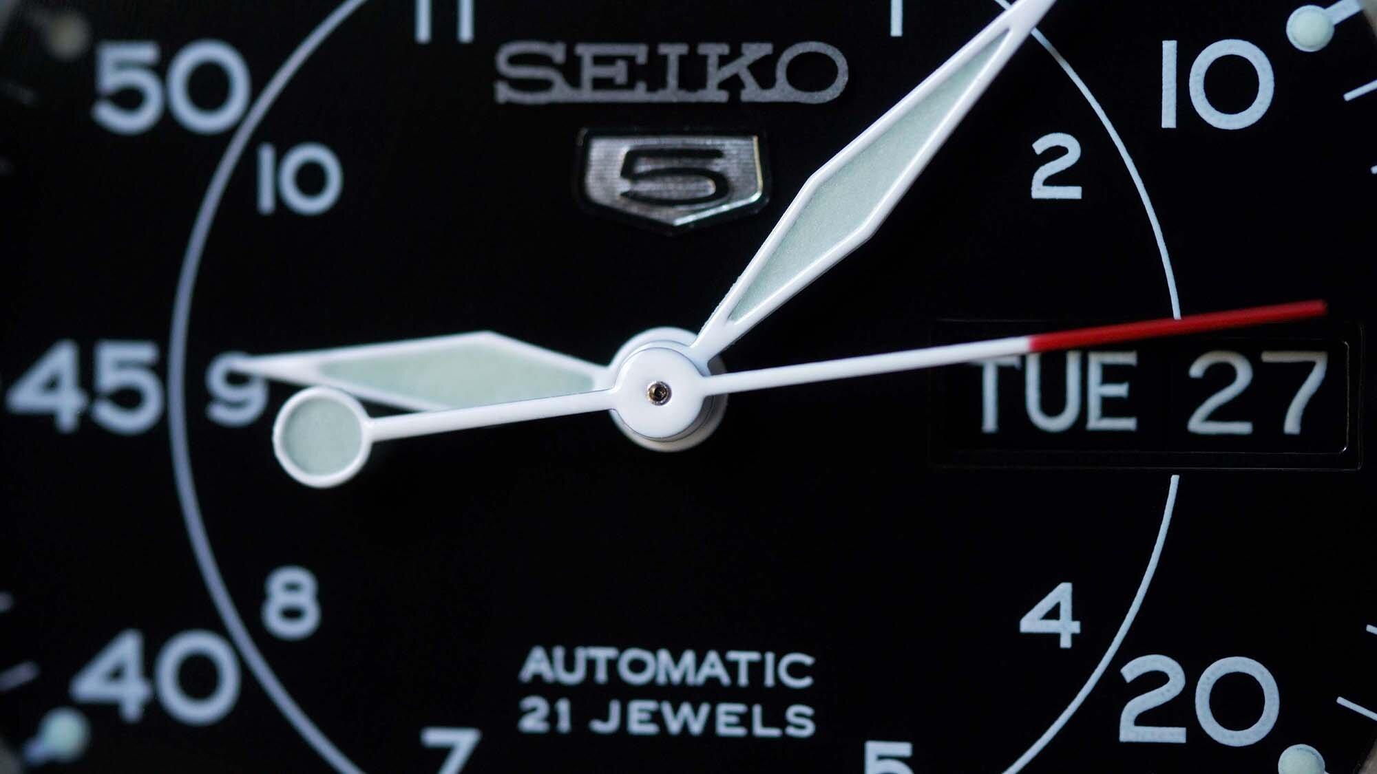 đồng hồ cơ nam seiko