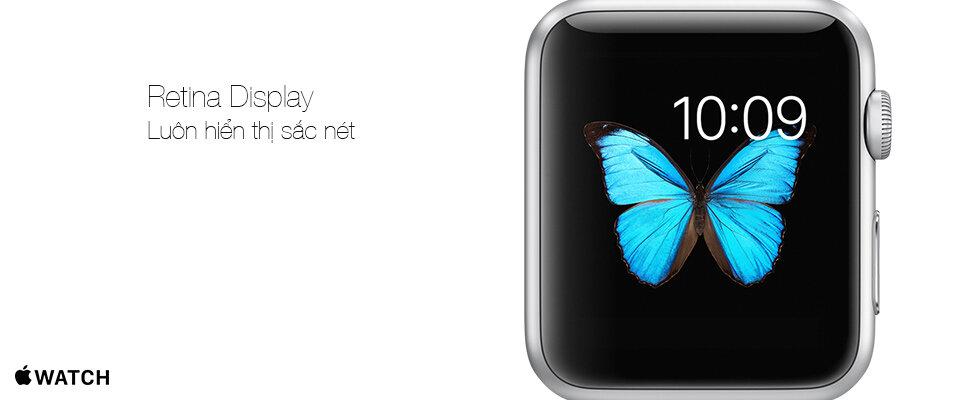 Đồng hồ thông minh Apple Watch màn hình Retina