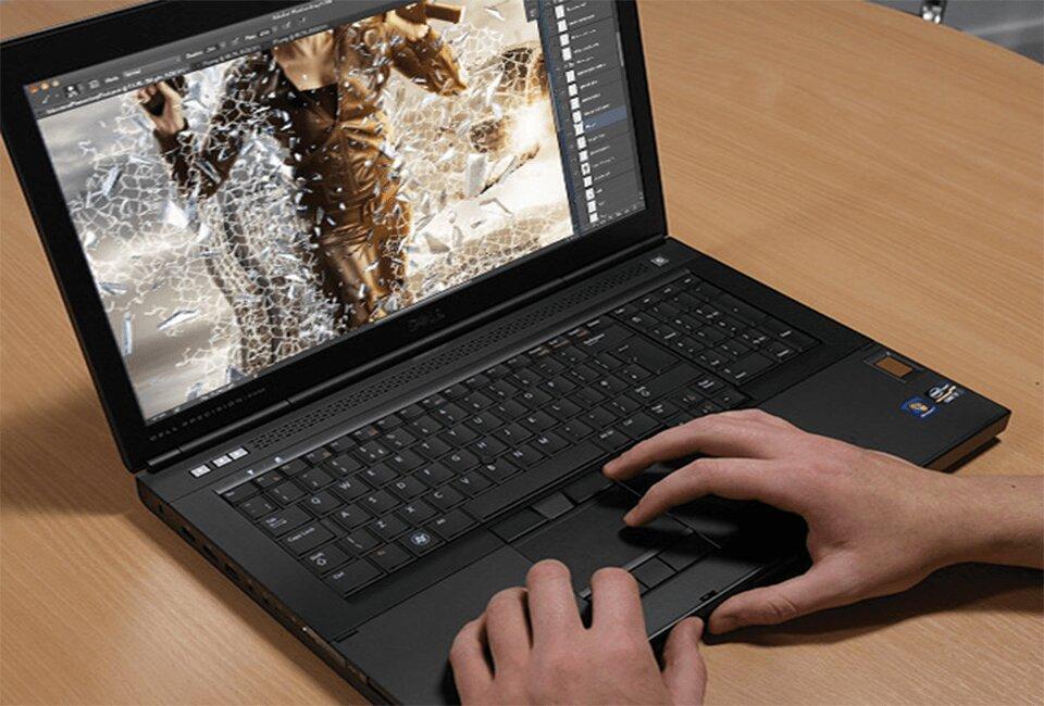 Alt + Caption: Laptop Dell Precision: Dòng máy cho dân chuyên nghiệp chất lượng