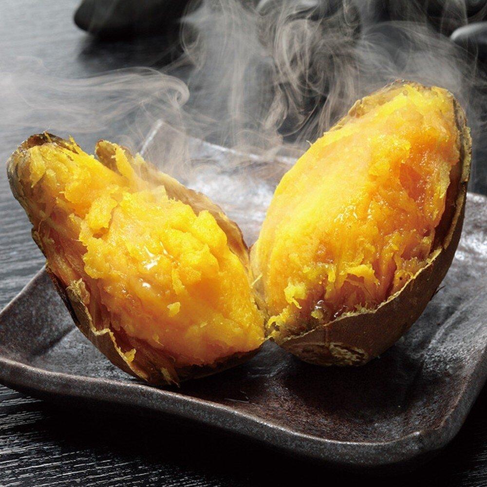 Khoai lang khi nướng chín sẽ có mật vàng chảy ra