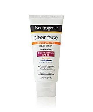 Neutrogena Clear Face Liquid Lotion SPF 30