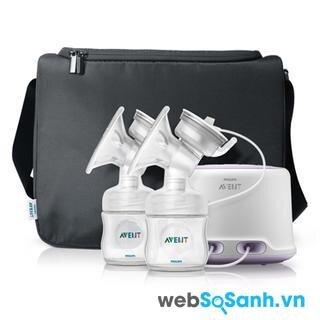 Máy hút sữa điện đôi Philips Avent Comfort