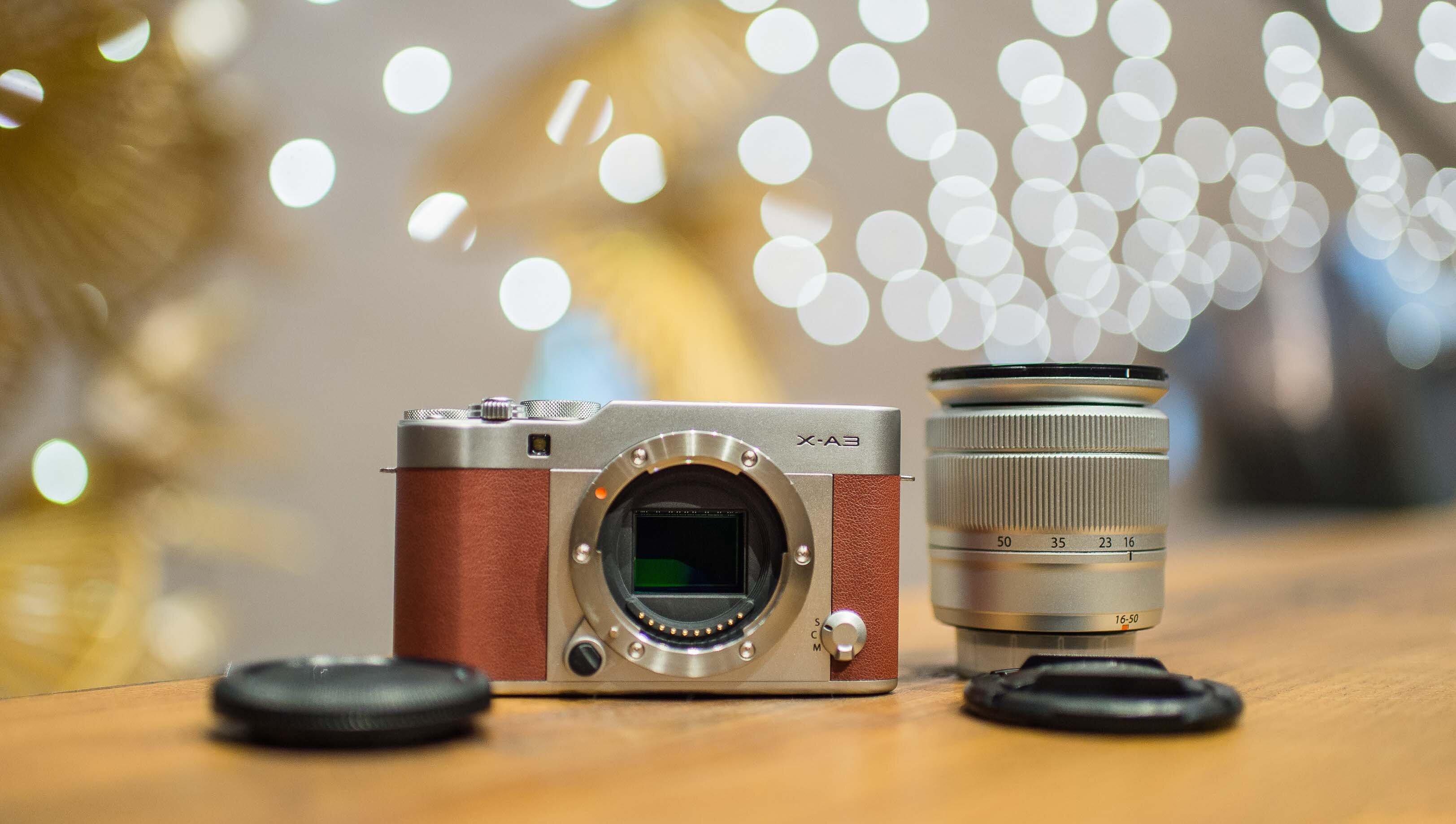 Máy ảnh XA3 thân thiện dễ sử dụng