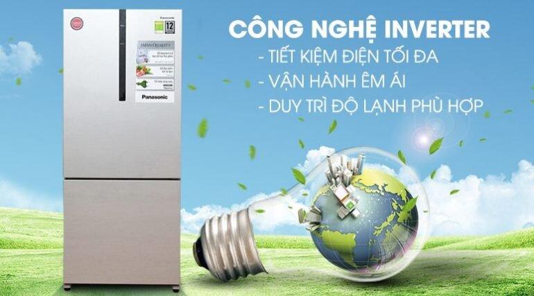 tủ lạnh inverter ngăn đá dưới tiết kiệm điện
