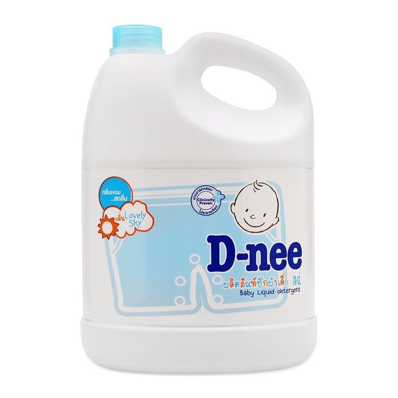 Nước giặt Dnee làm mềm vải và thơm dịu nhẹ