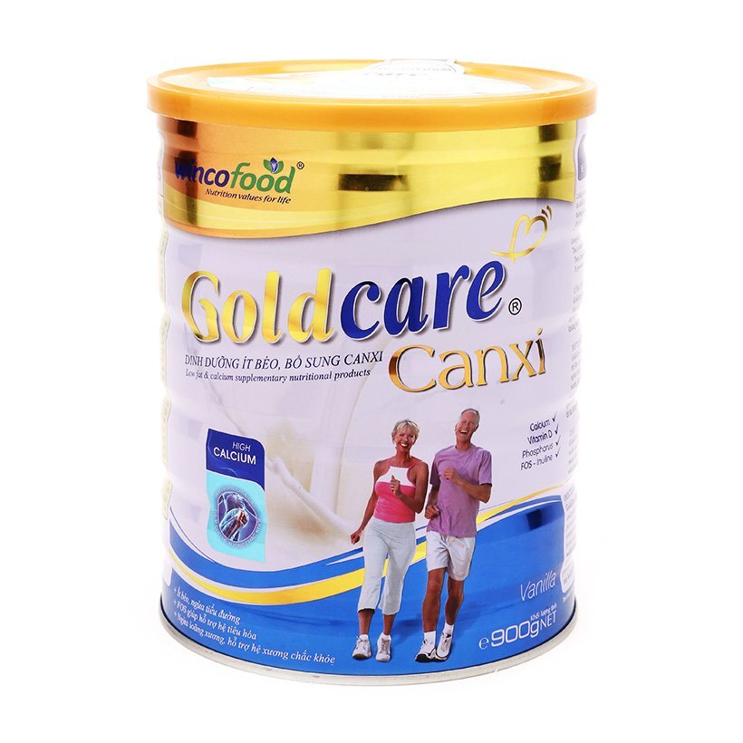 Sữa bột Goldcare canxi Wincofood