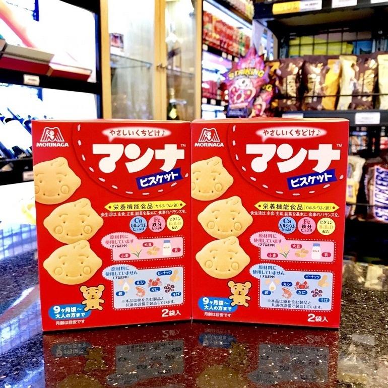Bánh ăn dặm của Nhật Morinaga cho bé 6 tháng