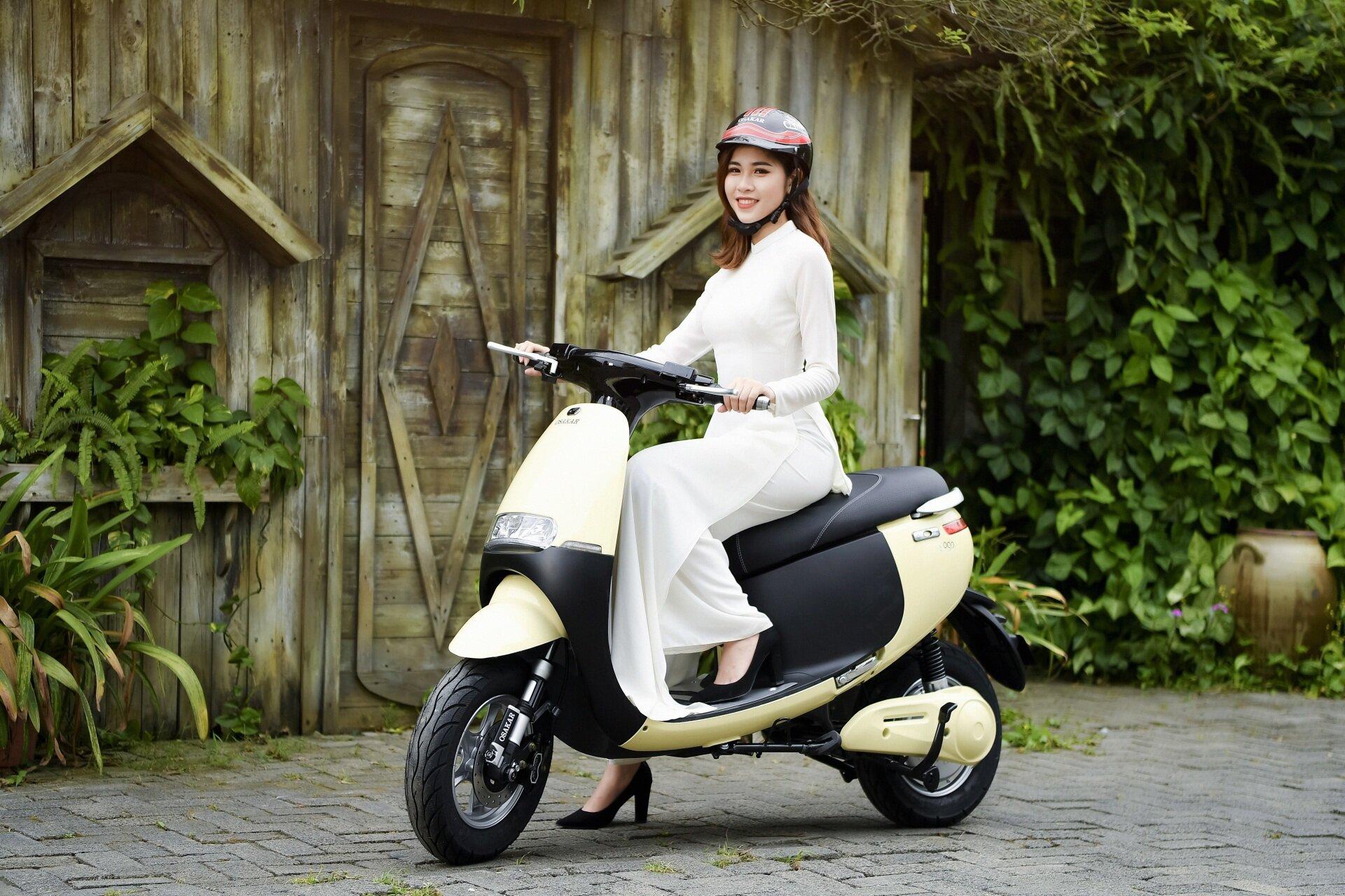Xe máy điện Gogo của Osakar có nhiều tiện ích vượt trội