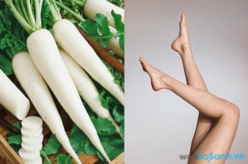 Củ cải trắng có khả năng thúc đẩy các axit béo trao đổi nhiều hơn (nguồn: internet)