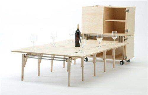 Những mẫu bàn ăn vừa khít cho căn bếp nhỏ 6