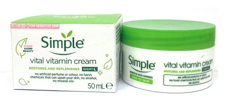 Kem có vitamin C giúp cho làn da luôn khỏe mạnh