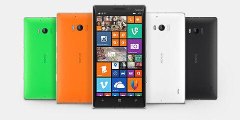 Ảnh thực tế của Lumia 930.