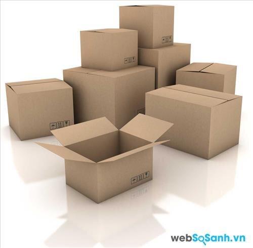 Chuẩn bị đầy đủ đồ chứa đồ đạc khi chuyển nhà