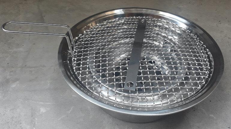 Ưu điểm của bếp nướng than inox