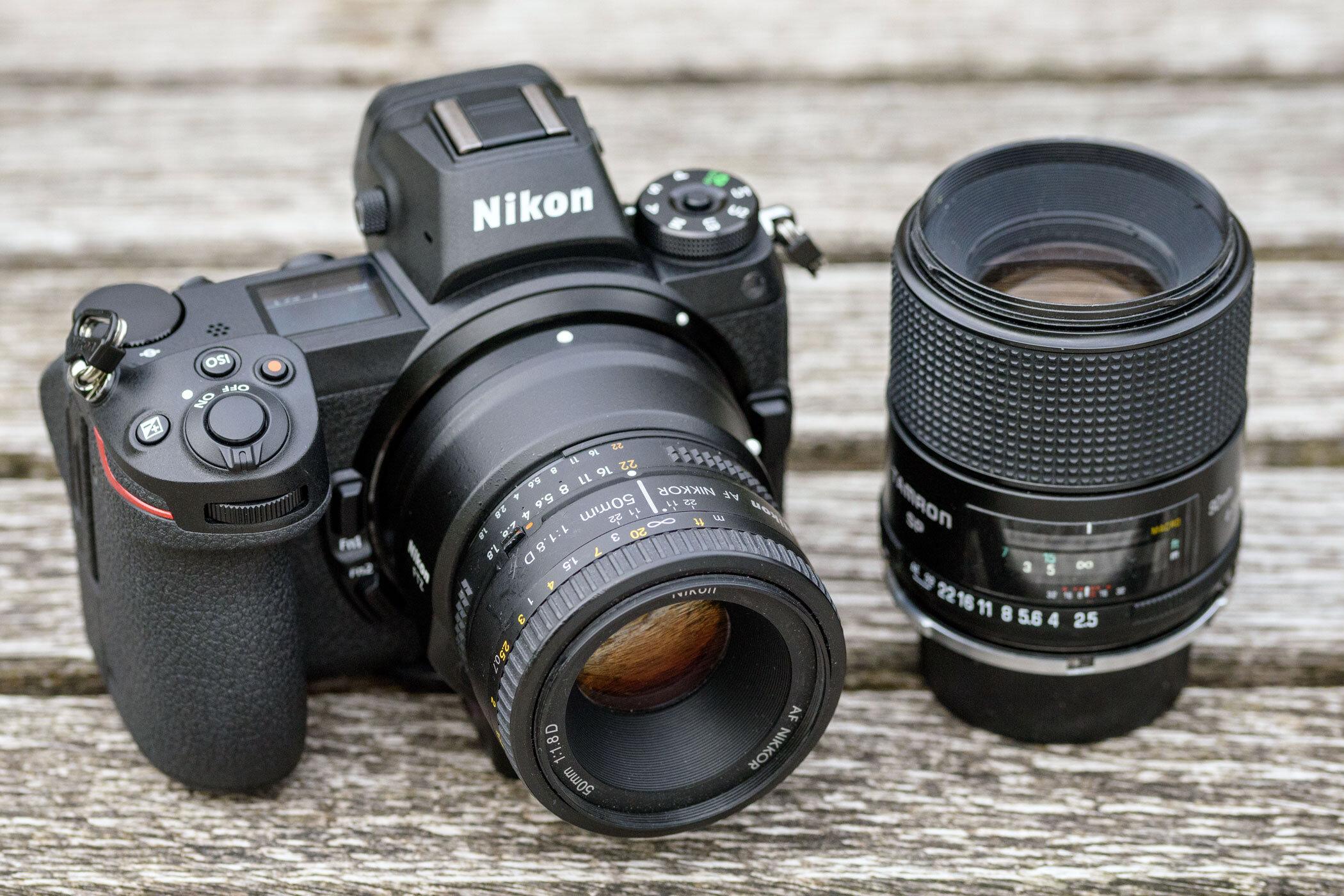 Dòng máy ảnh Nikon Z7