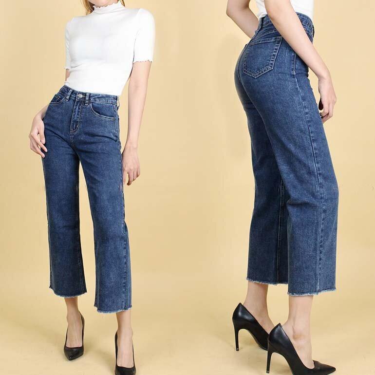 Quần Jean ống rộng nữ đẹp