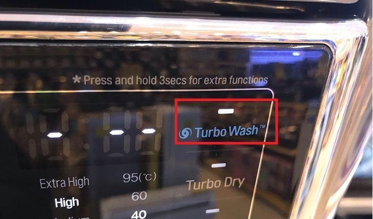 Cách dùng chức năng tubor wash trên máy giặt LG F2721HTTV