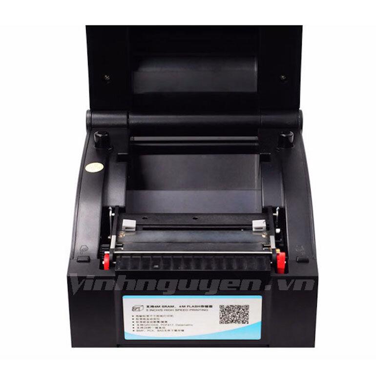 Nhược điểm của máy in mã vạch Xprinter 350B
