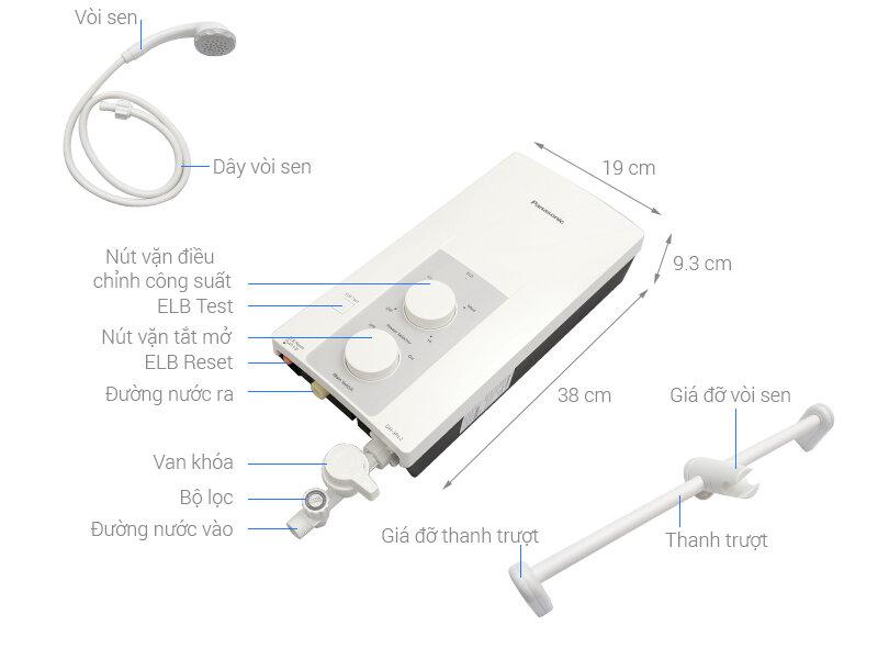 Panasonic dh-3rl2vh