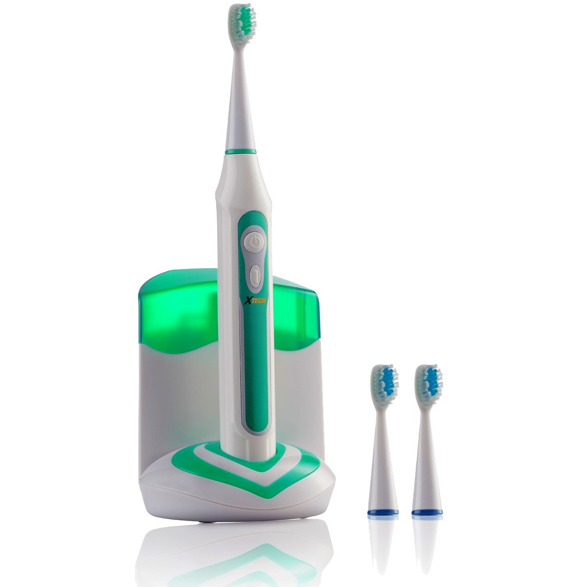 Xtech XHST-100 Oral Hygiene Ultra Powered 40,000VPM là sản phẩm bàn chải điện có 5 chế độ làm sạch khác nhau