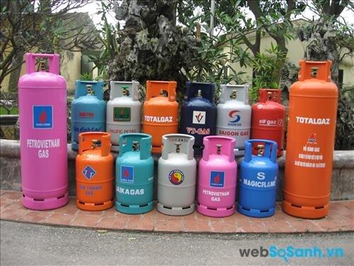 Gas bao gồm khí C3 và C4, khí C4 càng nhiều, sử dụng càng tiết kiệm