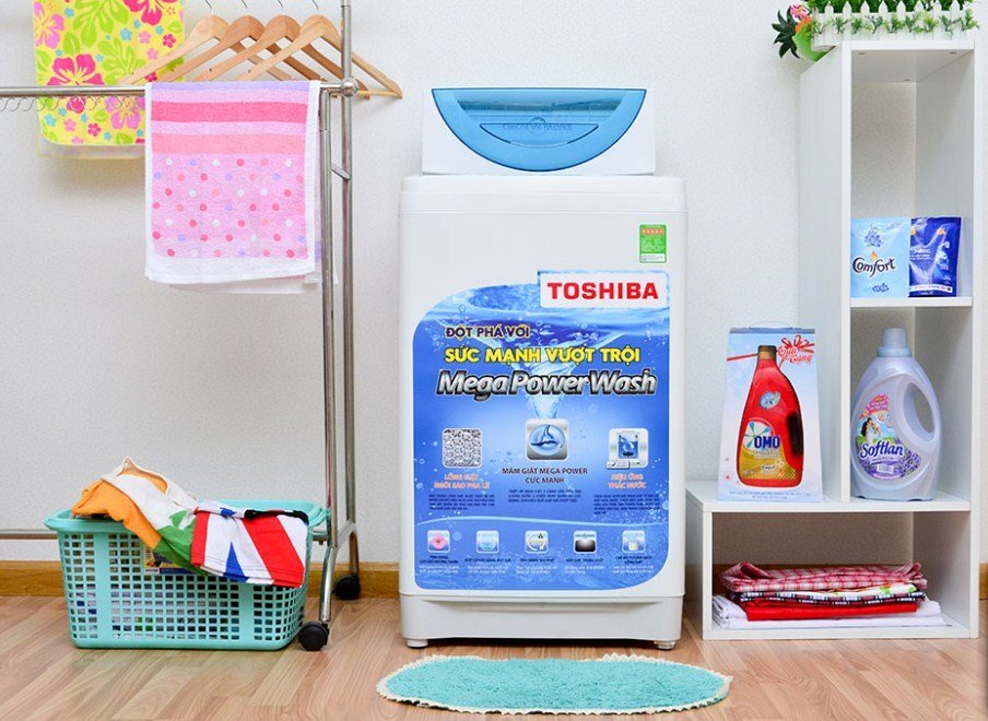 Máy giặt Toshiba thiết kế trang nhã