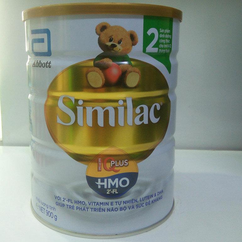 Sữa Similac IQ số 2 công thức dưỡng chất IQ vượt bậc (Nguồn: vn-live-01.slatic.net)
