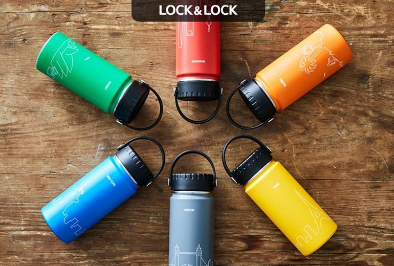 Bình giữ nhiệt Lock&Lock RigaTumbler 897ml - Giá tham khảo: 531.000 vnđ
