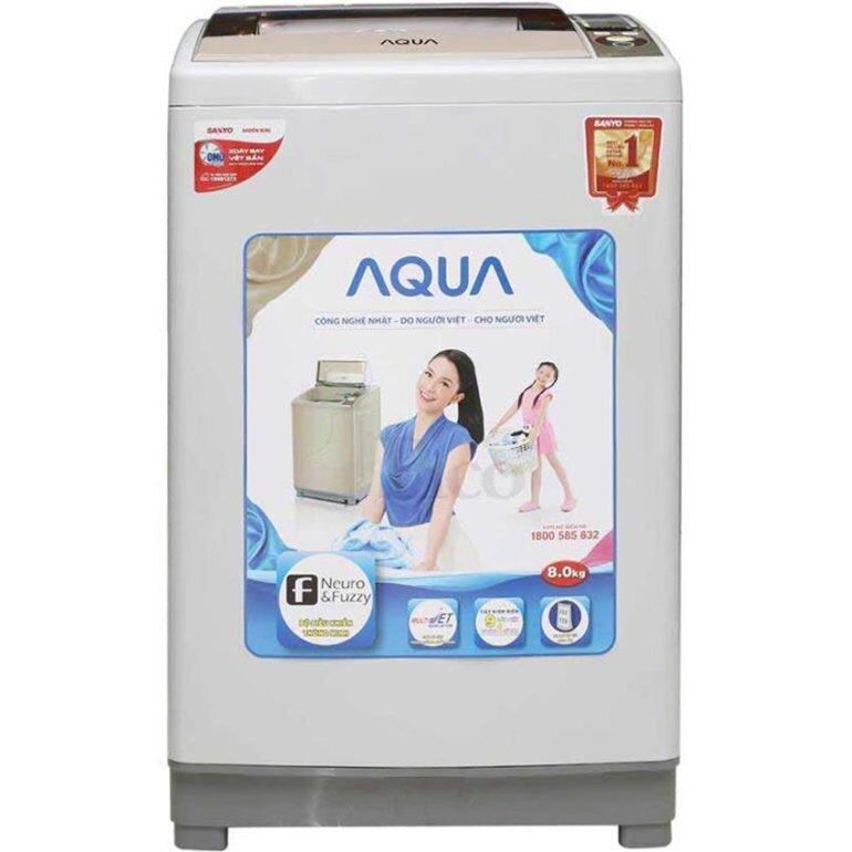 Đánh giá máy giặt Aqua S80KT : NHANH - SẠCH - RẺ