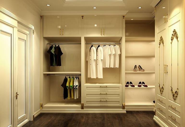 Tủ quần áo âm tường là gì?