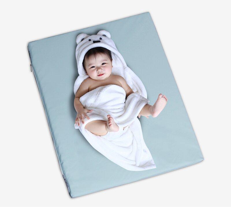 Nệm Kymdan mini mẹ yên tâm vì con được ngon giấc với sự êm ái, thoải mái nhất