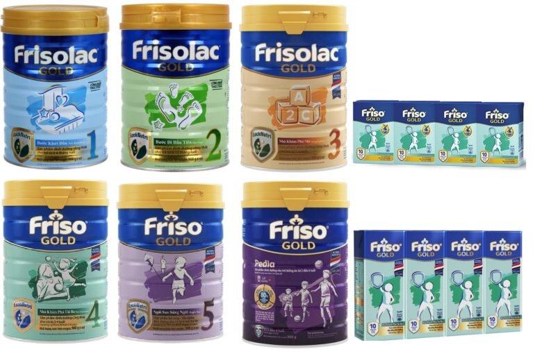 sữa Friso Gold Việt