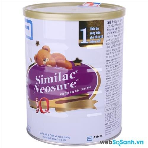 Sữa bột Similac Neosure IQ số 1