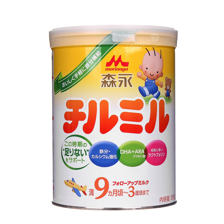 Sữa Morinaga số 9 dành cho bé từ 9- 36 tháng tuổi