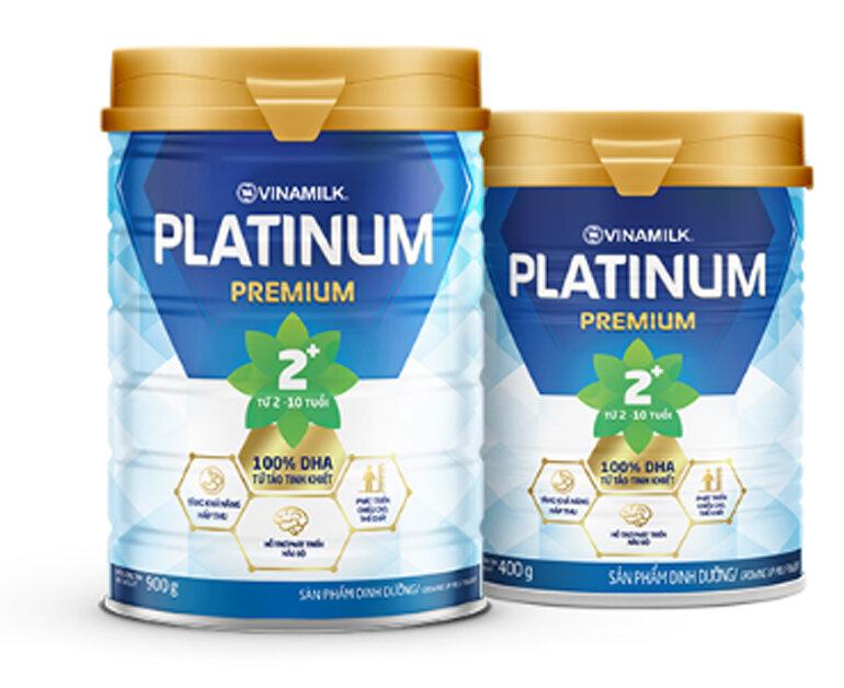Giá sữa bột Vinamilk Platinum bao nhiêu tiền ?