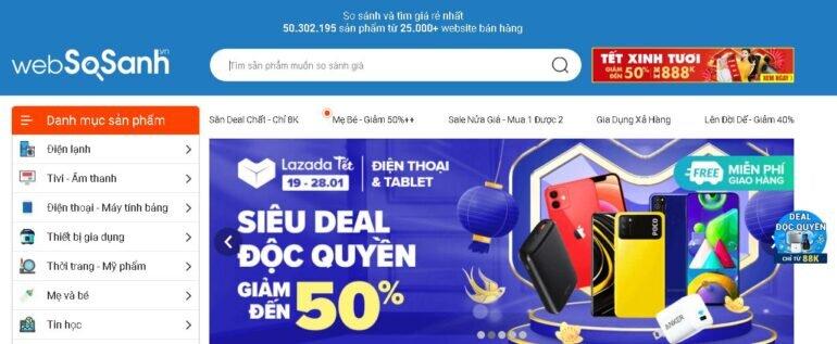 Bí kíp mua sắm thông minh tiết kiệm cho gia đình cùng Websosanh.vn