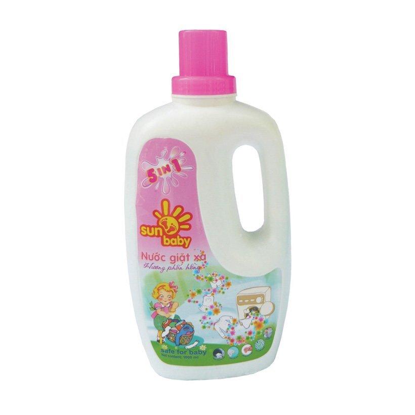 Nước giặt có độ pH trung tính và không gây hại cho da