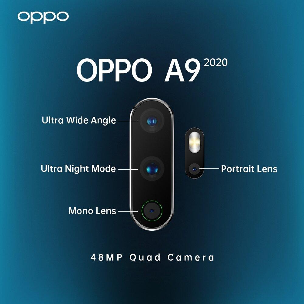 Tính năng cảm biến vân tay vẫn được phát huy trên Oppo A9 cùng nhiều cải tiến mới