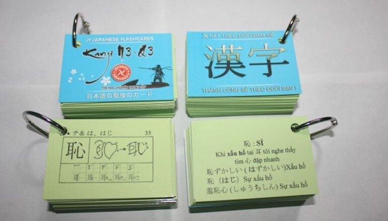 Các loại flashcard rất đa dạng và hữu ích