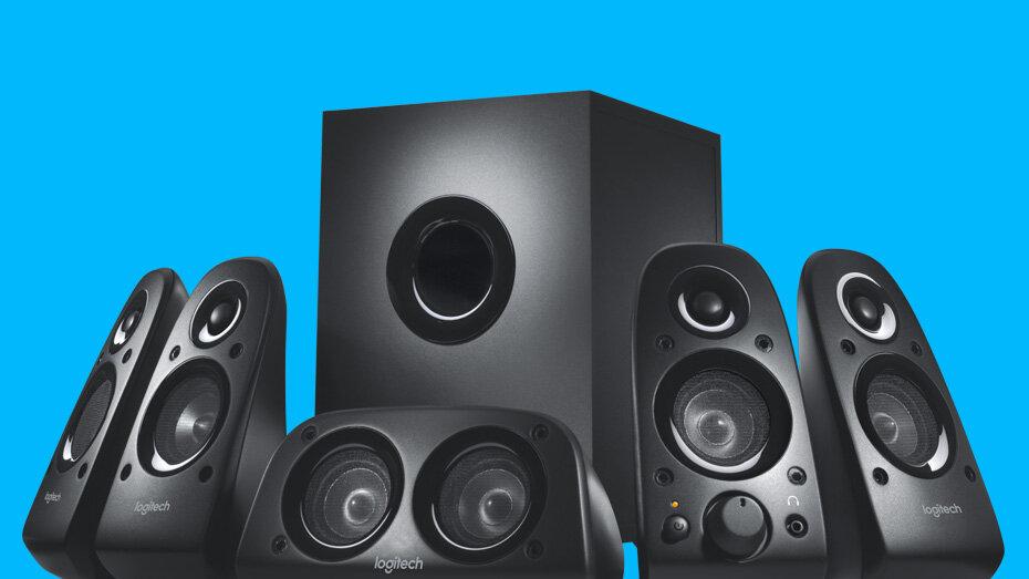 Hệ thống âm thanh vòm Logitech Z506 5.1 cho âm thanh sống động, tự nhiên