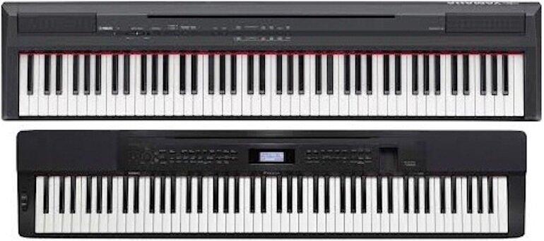 Tính năng ghi âm bài hát đều được tích hợp trên hai dòng Casio và Yamaha