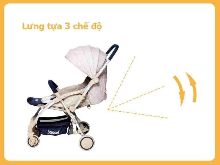 tính năng xe đẩy trẻ em