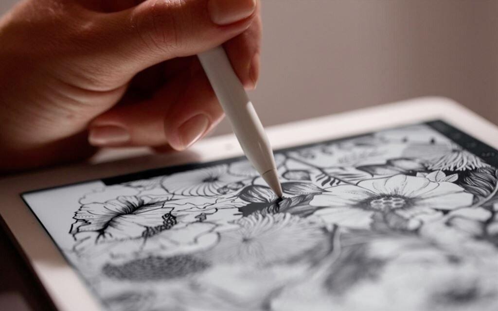 Apple Pencil cảm ứng nhanh hơn