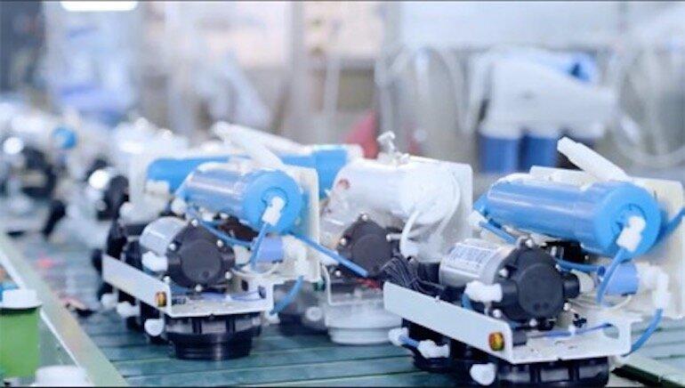 Công nghệ máy lọc nước