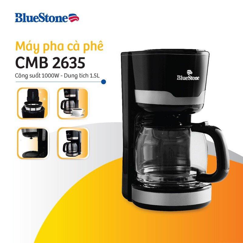 Máy pha cà phê Bluestone có tốt không