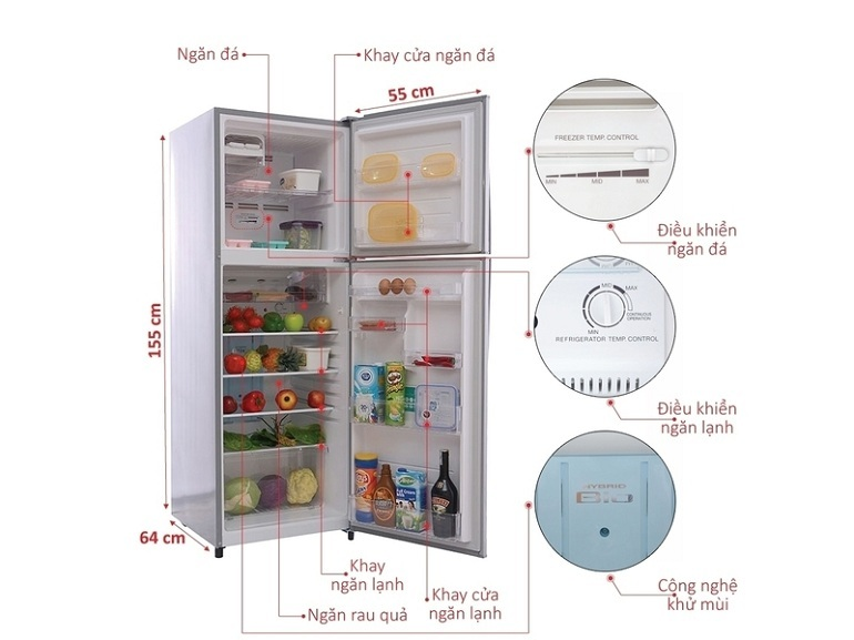 tủ lạnh toshiba tốt nhất