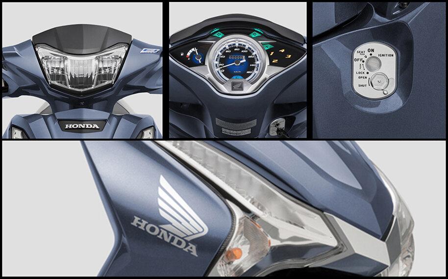 Xe được thiết kế với những tính năng an toàn cho người dùng